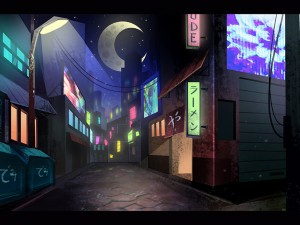 One Night Street Concept Art
