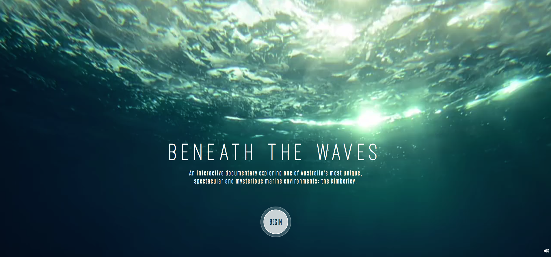 Lauren Fletcher » Beneath the Waves interactive documentary
